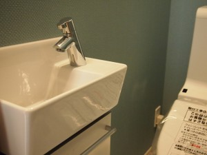 目黒区目黒1丁目戸建て トイレ