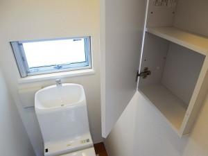 大田区東馬込 戸建て 3階トイレ