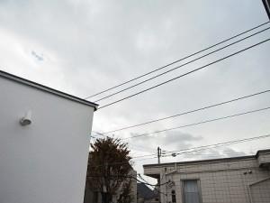 大田区東馬込 戸建て 3階バルコニー眺望