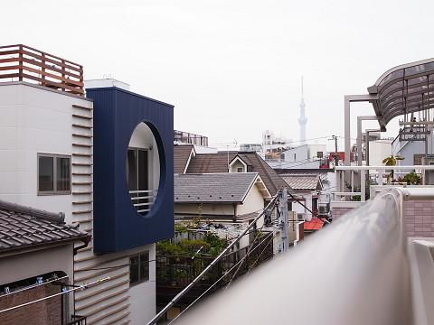 江東区三好 戸建て 眺望
