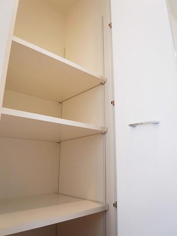 世田谷区新町1丁目 戸建て トイレ 収納棚