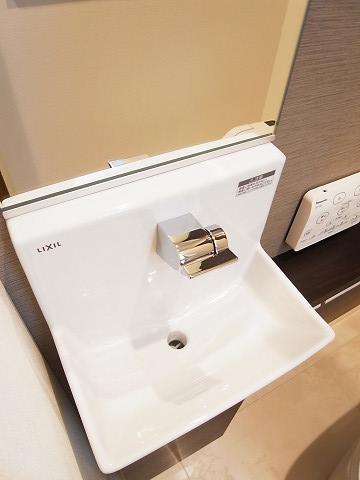 品川区西中延1丁目 戸建て 2階 トイレ 手洗い