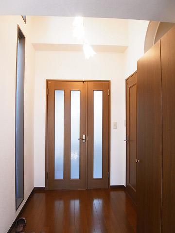 目黒区柿の木坂2丁目 戸建て 玄関ホール