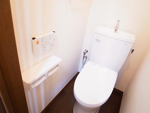 目黒区柿の木坂2丁目 戸建て トイレ