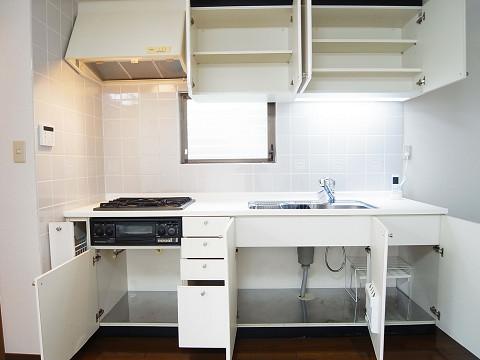 目黒区柿の木坂2丁目 戸建て キッチン