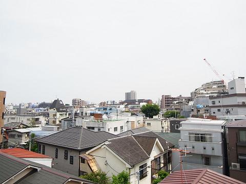 渋谷区幡ヶ谷3丁目c号棟 戸建 ルーフバルコニー 眺望