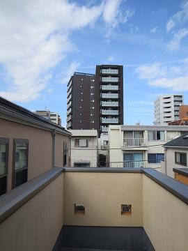 新宿区矢来町29丁目 戸建て 3階 バルコニー