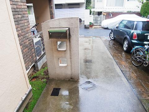 新宿区矢来町29丁目 戸建て カースペース