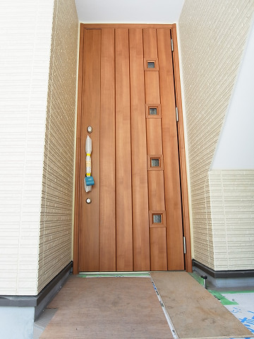 目黒区目黒本町1丁目A号棟 戸建て 玄関ドア