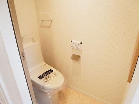 目黒区目黒本町1丁目A号棟 戸建て 1階 トイレ