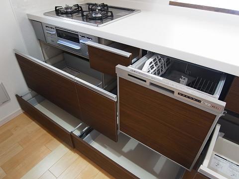 大田区南雪谷5丁目 戸建 キッチン 食洗機