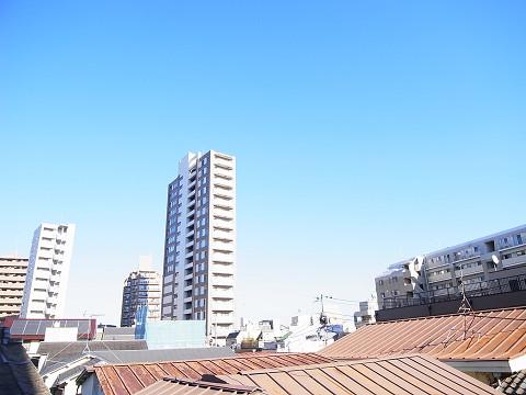 豊島区巣鴨4丁目 戸建 ルーフバルコニー 眺望