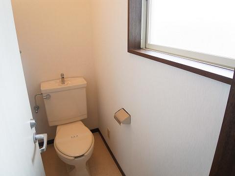 目黒区原町2丁目 戸建 2階 トイレ