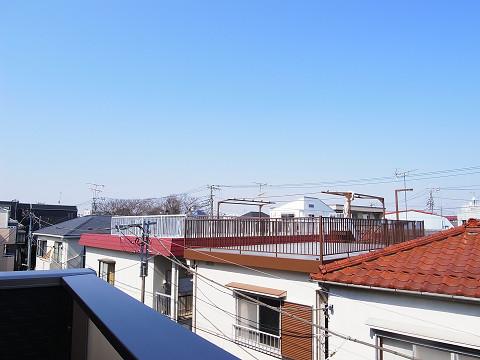 中野区上高田3丁目A号棟 戸建 洋室3 眺望