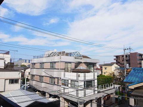 江東区北砂4丁目 テラスハウス 3階 バルコニー 眺望