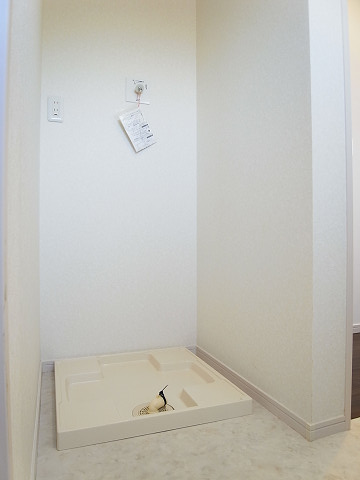 世田谷区上祖師谷2丁目1号棟 戸建 洗濯機置場