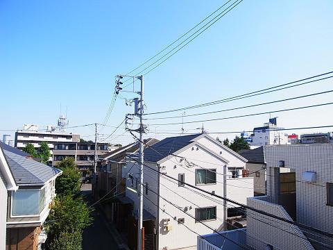世田谷区代田3丁目4号棟 洋室3 バルコニー 眺望