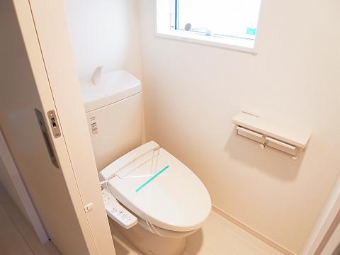 世田谷区玉堤1丁目5号棟 トイレ
