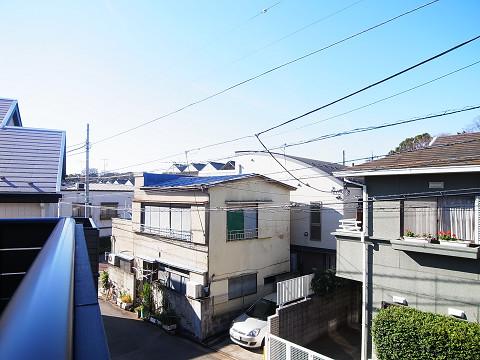世田谷区豪徳寺2丁目A号棟 戸建 バルコニー 眺望