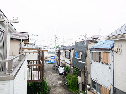 新宿区中井2丁目 2号棟 眺望