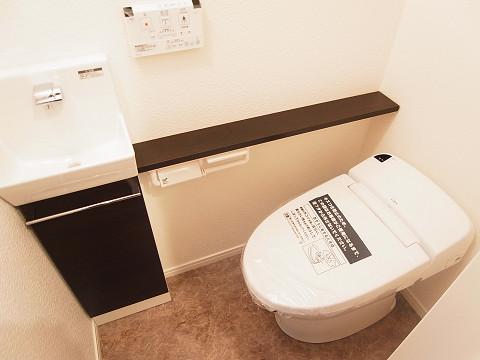 杉並区和田1丁目 戸建 トイレ1
