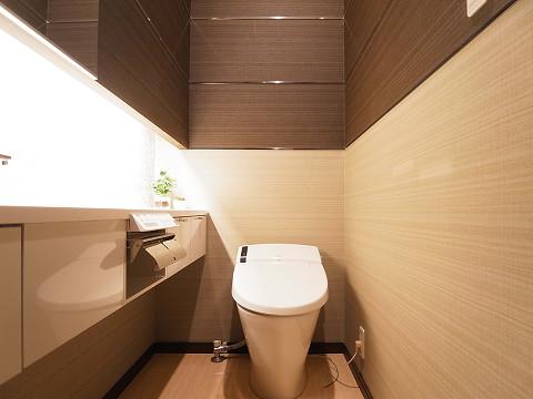 目黒区八雲3丁目 戸建 トイレ