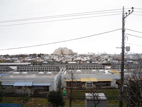 目黒区八雲3丁目 戸建 インナーバルコニー 眺望