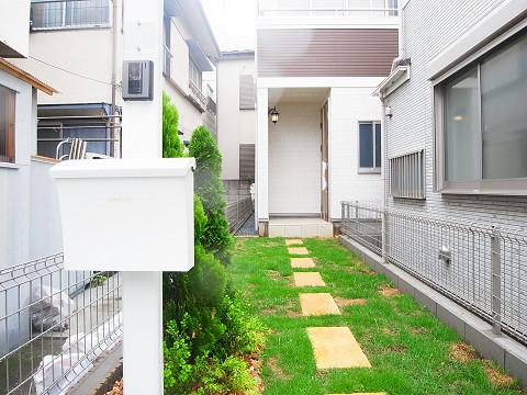 大田区東馬込1丁目1号棟 戸建 アプローチ