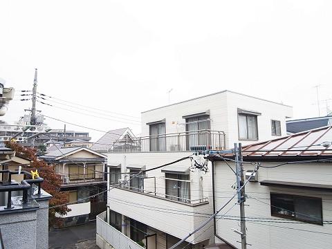 大田区南雪谷1丁目 中古 洋室3 バルコニー 眺望
