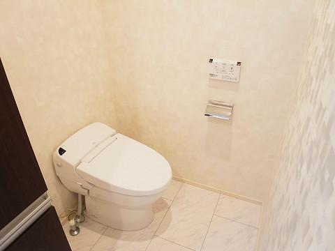 世田谷区梅丘2丁目A号棟 戸建 トイレ1